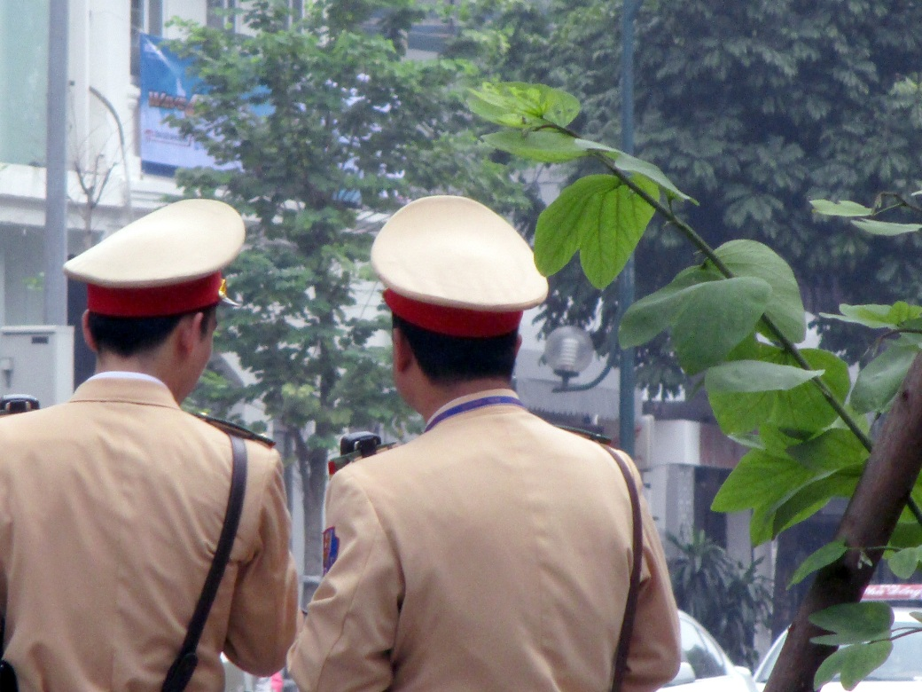 Hanoi Police Hats