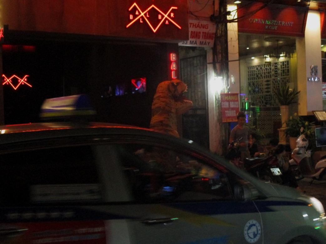 Hanoi Taxi or Police