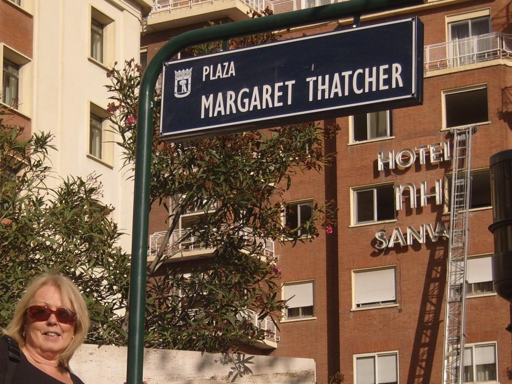 Margaret thatcher square
