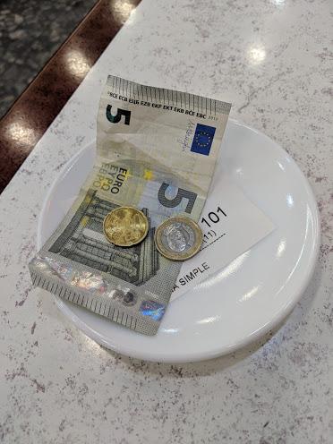 money for bill 1