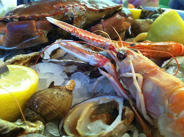 Seafood platter 3