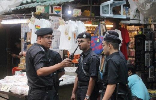 PETALING_STREET police